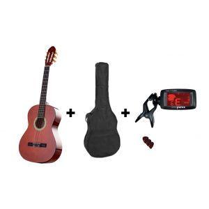 Valida Classic Guitar Set V100 4/4 Honey