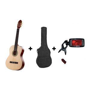 Valida Classic Guitar Set V120 TR 4/4 Natural