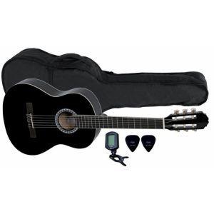 VGS Basic Classic Guitar SET 4/4 Black