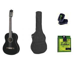 Yamaha Classic Guitar Set C40 4/4 Black
