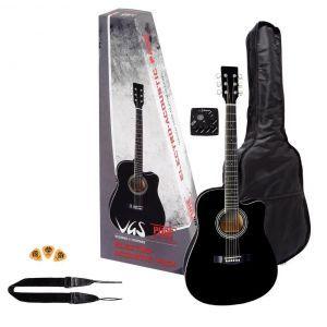 VGS Electroacustic Guitar Set BK