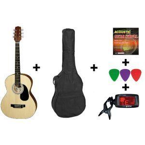 Hora Acoustic Guitar Set Standard M 4/4