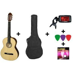 Hora Acoustic Guitar Set Student 4/4