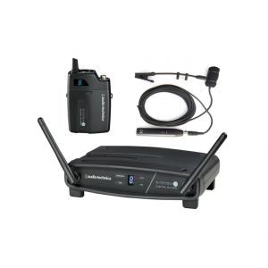 Set microfon fara fir Audio Technica System 10 ATW 1101 Cu ATM 350