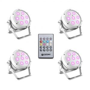 Set Proiectoare Led Par Cameo Root Par 4 Set 1 White
