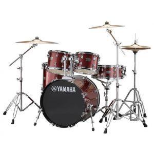 Set Toba Acustica Yamaha Rydeen Standard Burgundy Glitter