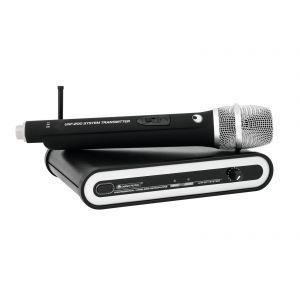 Sistem Microfon fara fir Omnitronic UHF-201 828.250MHz