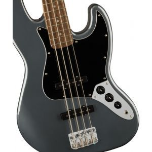 Squier Affinity Series Jazz Bass Charcoal Frost Metallic