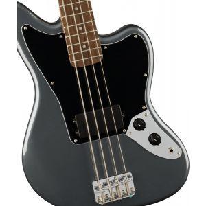 Squier Affinity Series Jaguar Bass H Charcoal Frost Metallic