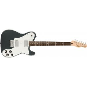 Squier Affinity Series Telecaster Deluxe Charcoal Frost Metallic