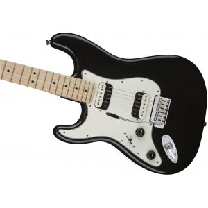 Squier Contemporary Stratocaster HH Left-Handed Black Metallic