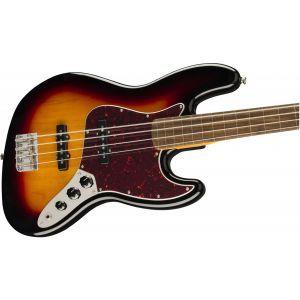 Squier Classic Vibe 60s Jazz Bass Fretless 3-Color Sunburst