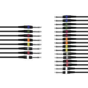 Cablu Omnitronic Snake cable 8xJack/16xJack mono