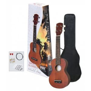 Set Ukulele Miguel J. Almeria Sopran Player Pack