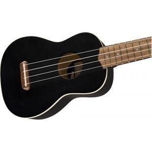 Fender Venice Black Sopran Ukulele